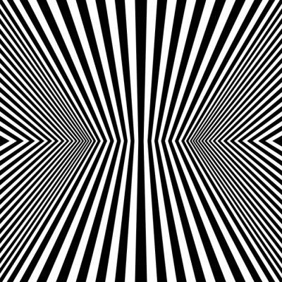 Fotomural Optical Art Rhombus Seamless Pattern
