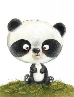 Fotomural oso panda pequeño