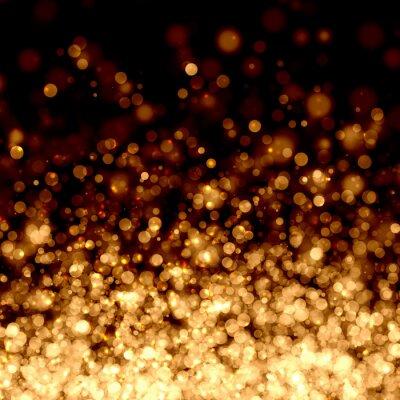 Fotomural Ouro fundo claro abstrato