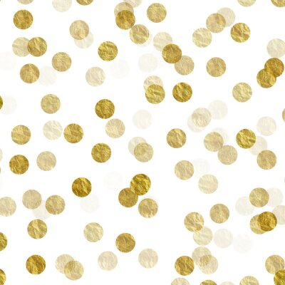 Fotomural Ouro, pontos, foil, folha, metálico, fundo, teste padrão, textura