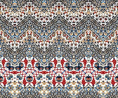 Fotomural padrão de zig zag abstrato