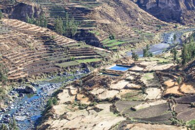 Fotomural Paisagem em Andes. Peru.