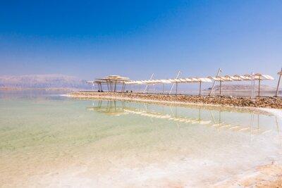 Fotomural Paisagem Litoral do Mar Morto