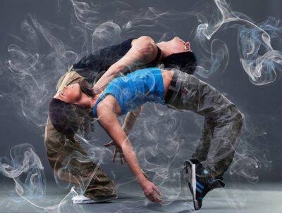 Fotomural Paixão dança casal.