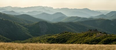 Fotomural Panorama da montanha