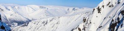 Fotomural Panorama das montanhas do norte