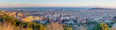 Fotomural Panorama de Barcelona