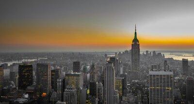Fotomural Panorama de Manhattan, Nova Iorque