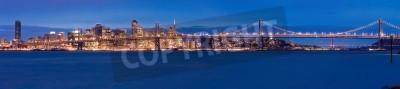 Fotomural Panorama de São Francisco à noite