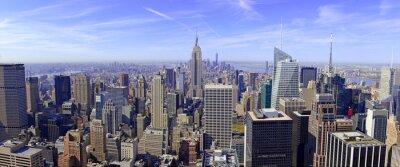 Fotomural Panorama, Manhattan, Skyline, Novo, York, cidade, EUA