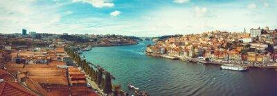 Fotomural Panorâmico do Douro no Porto.