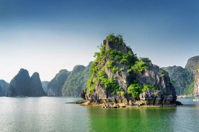 Fotomural Panorâmico, vista, Ha, longo, baía, sul, china, mar, vietnã