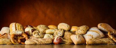 Fotomural Pão e pão pilha