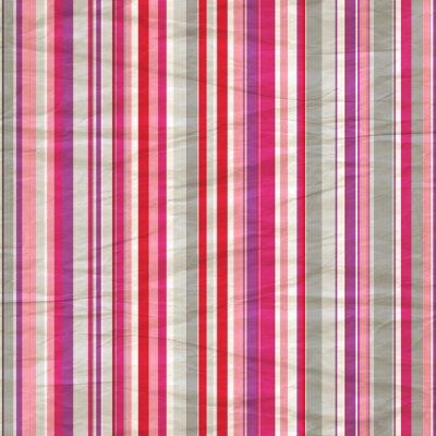 Fotomural Papel padrão de distribuição retro em cinza, roxo e rosa