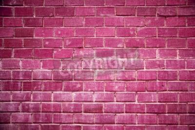 Fotomural parede de tijolos