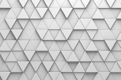Fotomural Parede do padrão 3D das telhas triangulares