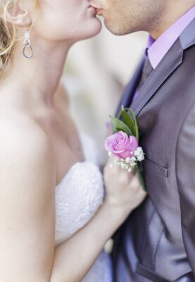Fotomural Pares do casamento