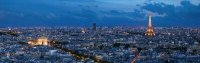 Fotomural Paris à l'heure bleue