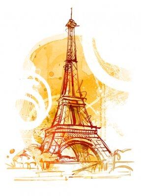 Fotomural Paris Verão