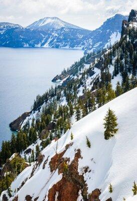 Fotomural Parque Nacional do Lago Crater