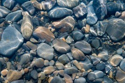 Fotomural Pedras sob a água.