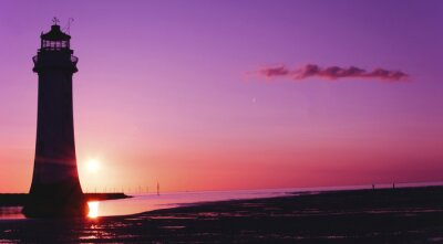 Fotomural Perch Rock, Farol, Nova Brighton, Wirral