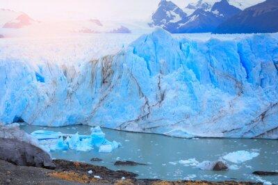 Fotomural Perito Moreno geleira.