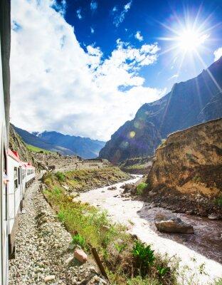 Fotomural Peru Trilho de Cuzco para Machu Picchu Peru