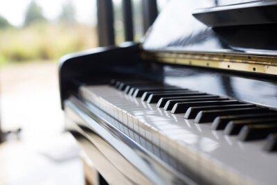 Fotomural Piano é um instrumento de música que é um teclado e popular em um miúdos.