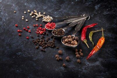 Fotomural Pimenta, pimentão, pimenta