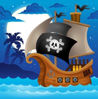 Fotomural Pirate ship topic image 2