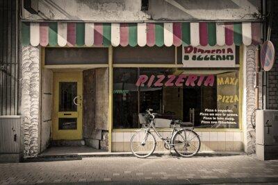Fotomural pizzaria