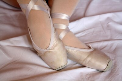 Fotomural Pointe Shoes