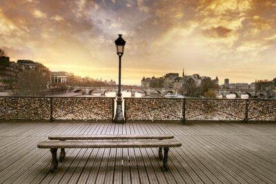 Fotomural Pont des Arts em Paris