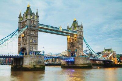 Fotomural Ponte da torre em Londres, Grã-Bretanha