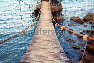 Fotomural Ponte de corda