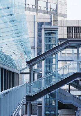 Fotomural Ponte do pé e escada
