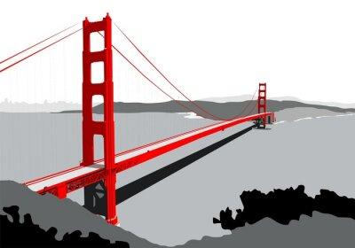Fotomural Ponte Golden Gate
