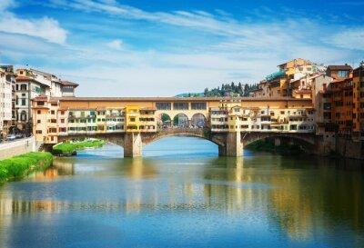 Fotomural Ponte Vecchio, Florença, Itália