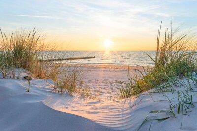 Fotomural Pôr do sol no Mar Báltico