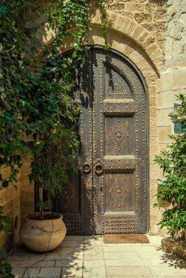 Fotomural porta
