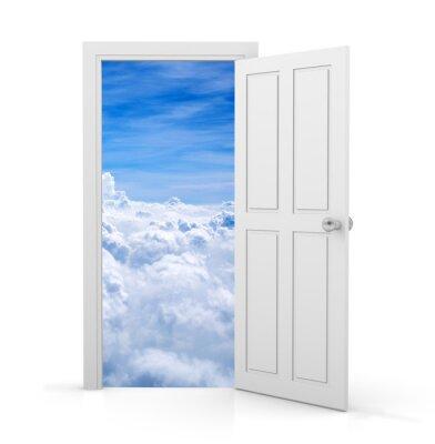 Fotomural porta aberta