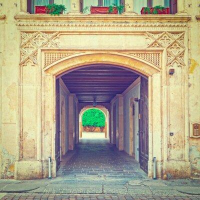 Fotomural Porta de entrada