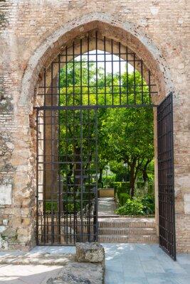 Fotomural Portão para os jardins do Alcazar em Córdoba