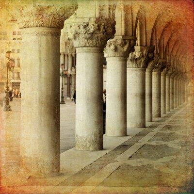Fotomural Portico di Palazzo Ducale, Venezia