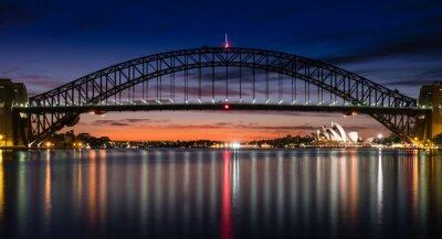 Fotomural Porto de Sydney na alvorecer