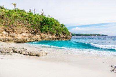 Fotomural Praia de areia branca tropical