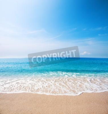 Fotomural Praia e mar tropical bonito