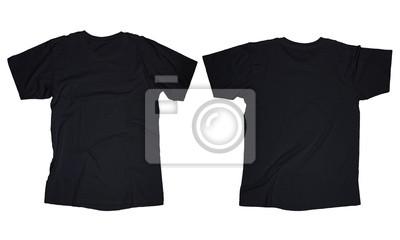 9e76438349697 Preto do t-shirt template fotomural • fotomurais equipamento ...