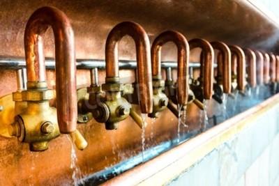 Fotomural Produção de cerveja